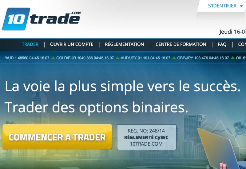 Trader option binaire pour les nuls