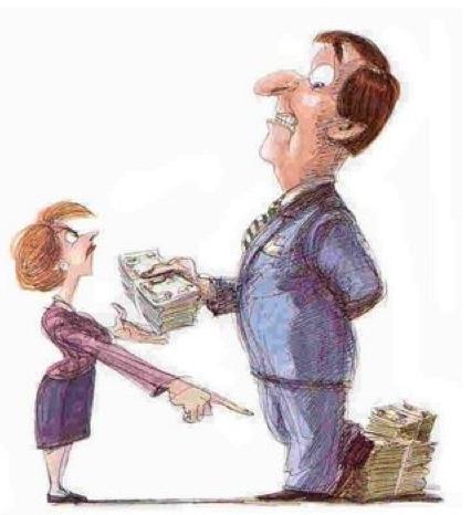 dessin trader et argent