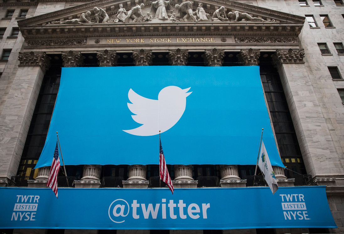 Twitter action stock exchange