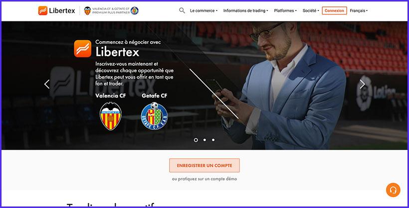 libertex accueil